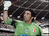 Juve and Italy star Buffon has been questioned about illegal betting