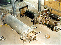 Centrifuges found stored in the 1990s near Osirak site (image: IAEA)