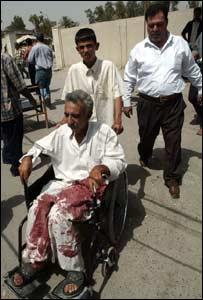جريح في اشتباكات بين الشرطة ومسلحين في بغداد الثلاثاء 16-5-2006