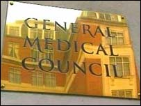 General Medical Council sign