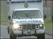 Westcountry Ambulance Service vehicle