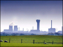 Sellafield nuclear power station in Cumbria