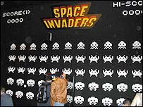 Space Invaders exhibition