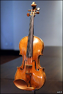 Auction-winning Stradivarius violin, The Hammer