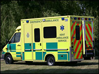 Kent ambulance