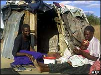 Family living in a shack after their home was demolished