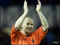 Dundee United defender Alan Archibald