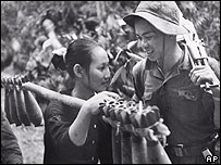 Two north Vietnamese soldiers in May 1970