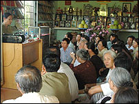 Nam Nghia holds a session for relatives of those missing in action
