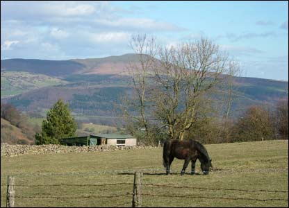 Liz Rhodes snapped this view of the Sugar Loaf near Abergavenny from her mother's garden on Llanelly Hill
