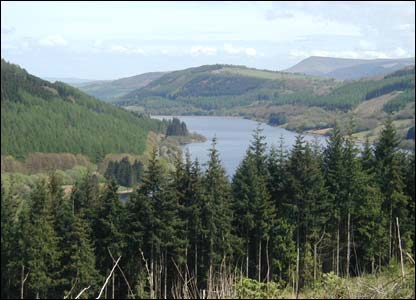 Chris Peake from Cathays took this shot of the Talybont reservoir from the Taff Trail