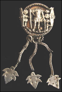 Quintus Sollonius's brooch