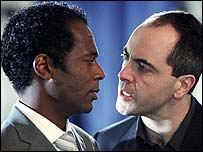 William Nadylam and James Nesbitt in Murphy's Law