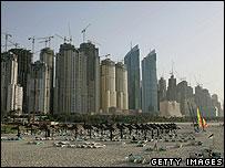 Dubai seafront