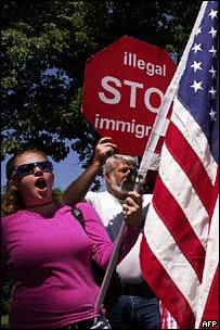 Minute Man demonstration against illegal immigration