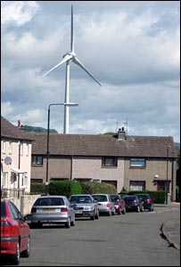 Dundee wind turbine (pic by Andrew Anderson)