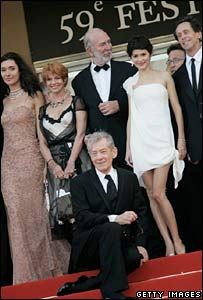 Da Vinci Code cast in Cannes