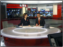 News 24 studio