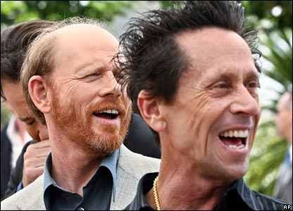 Ron Howard (l) and Brian Glazer