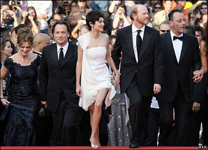 Cast of The Da Vinci Code at Cannes