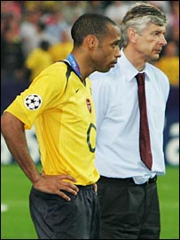 Arsene Wenger must now wait for Henry's decision