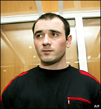 Nur-Pashi Kulayev in the dock on 17 May