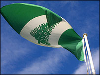 Norfolk Island's flag