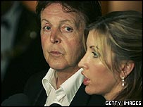 Sir Paul and Lady McCartney