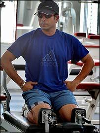 Indian batting star Sachin Tendulkar