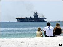 Barco de guerra estadounidense Oriskany