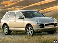 The 2006 Porsche Cayenne