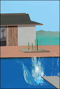 David Hockney's The Splash