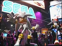 Sega stand at E3
