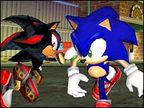 Screenshot of Sonic Adventure 2