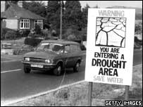 Warning about the 1976 drought