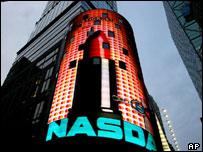 Nasdaq building in New York