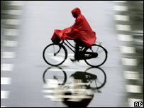 Rain in Shanghai, 18th May