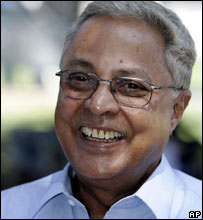 Labour leader Mahendra Chaudhry