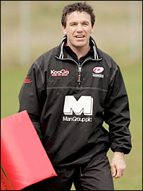 New England defence coach Mike Ford