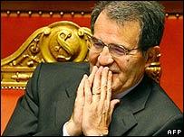 Romano Prodi. File photo