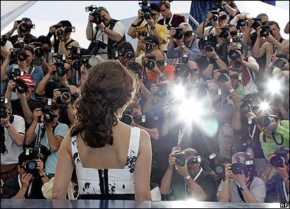 Actress Penelope Cruz attends a photocall at the film festival in Cannes, southern France