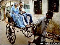 Rickshaw puller, Calcutta