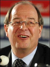 Fifa general secretary Urs Linsi