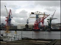 Swan Hunter shipyard