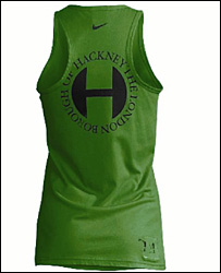 Nike vest allegedly bearing Hackney Council logo