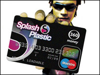 A 360money card