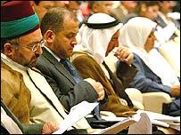 Iraqi parliamentarians