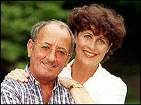 Freddie and Christine Garrity - picture courtesy of MEN syndication