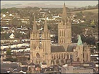City of Truro in Cornwall