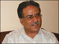 Maoist leader Prachanda
